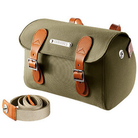 Brooks Millbrook Saddle Holdall green/honey